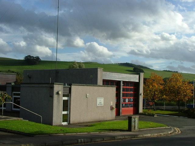 Cupar Fire Station