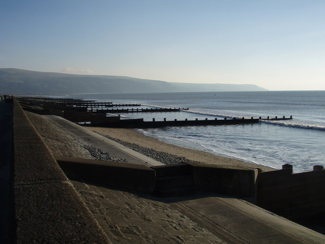 View to Llwyngwril from Barmouth Promenade