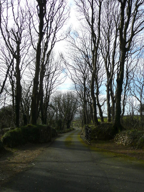 Drive to Lower Denzell