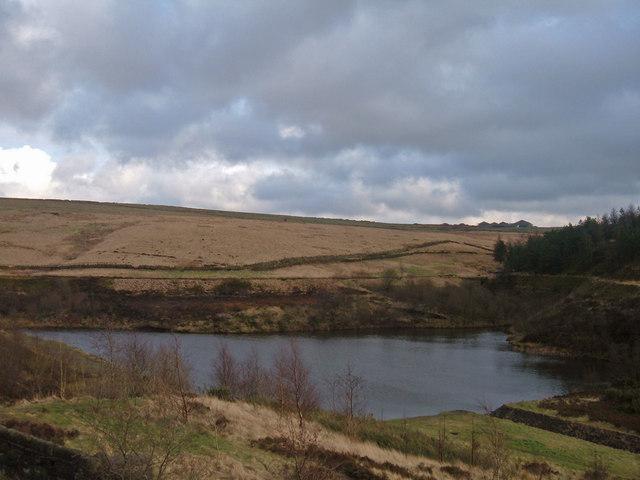 Brushes Clough Reservoir