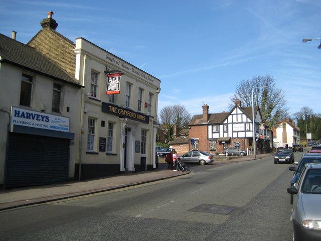 Crayford High Street: The Crayford Arms & The Duke's Head