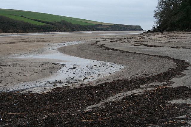 Holbeton: Erme estuary