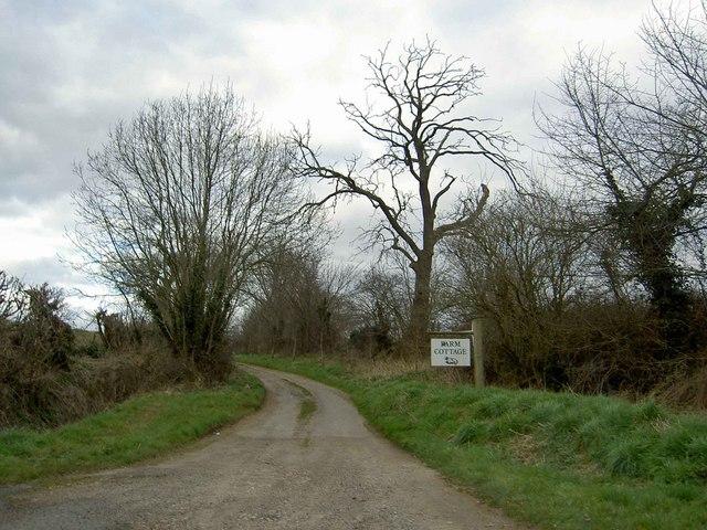Lane to Farm Cottage