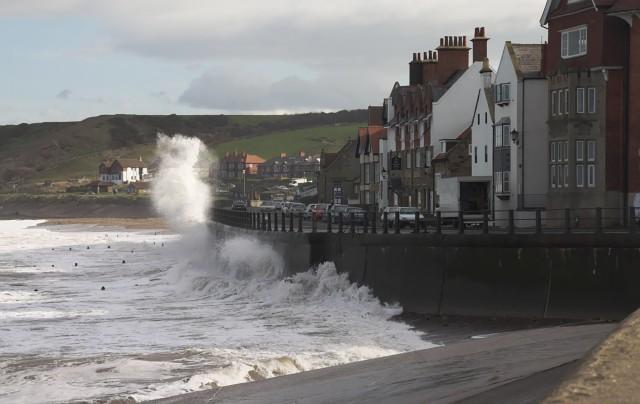 Stormy Sea at Sandsend