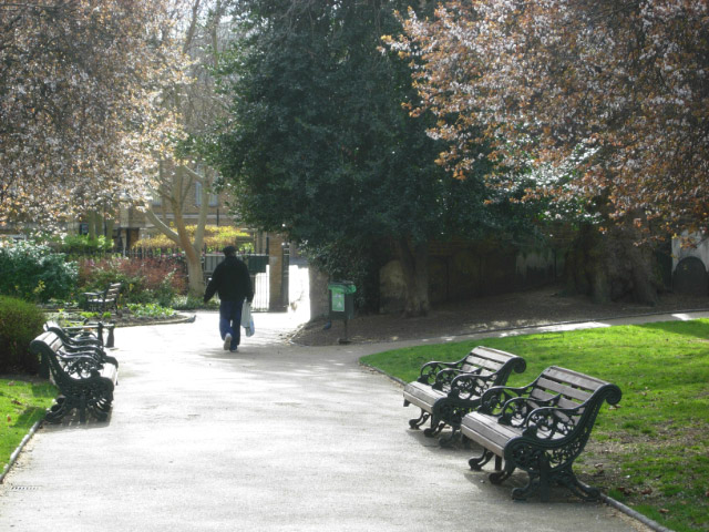 St Mary's Church Gardens, Islington