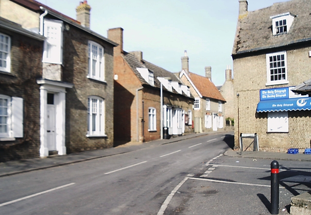 Junction of High Street and East Street, Bluntisham