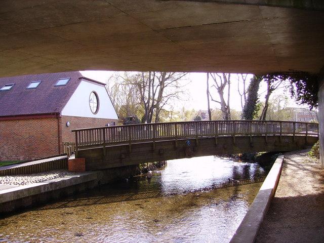 Andover - Footbridge