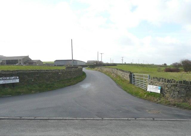 Moor Hey Lane, off Pinfold Lane, Fixby