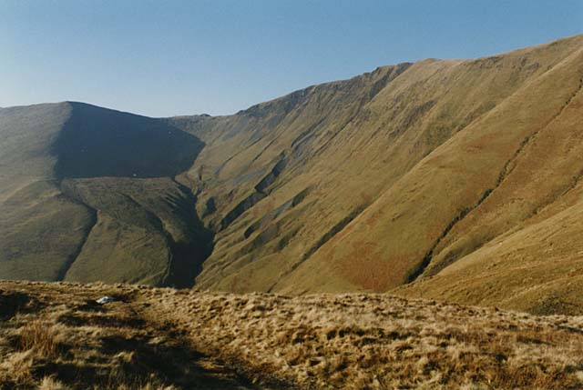 Head of the path up Hengwm
