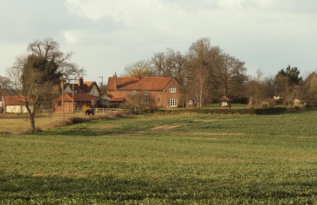 A view of Little Hyde Farm from the A.12