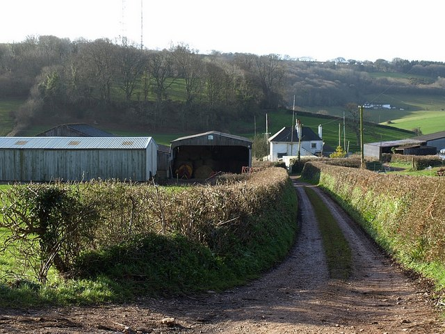 Farm track, Hazelwood Farm
