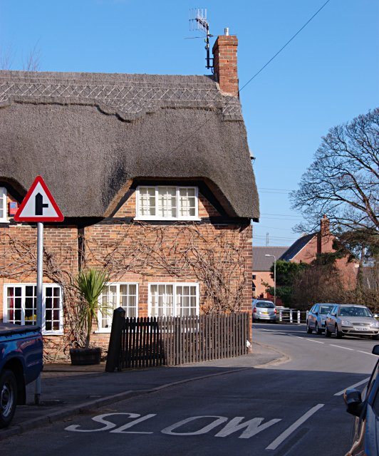 Thatched house, Hemington