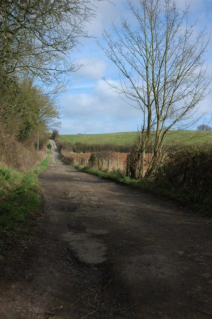 Lane to Heath Hill