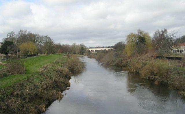 River Wharfe from Bridge Street