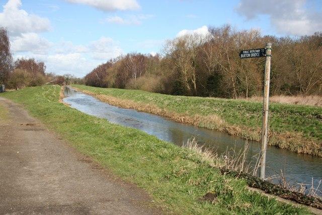 Bridleway to Burton Bridge