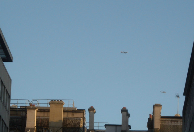 UFOs over Central London
