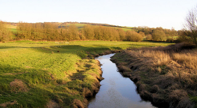 Cuckmere River from White Bridge, Alfriston