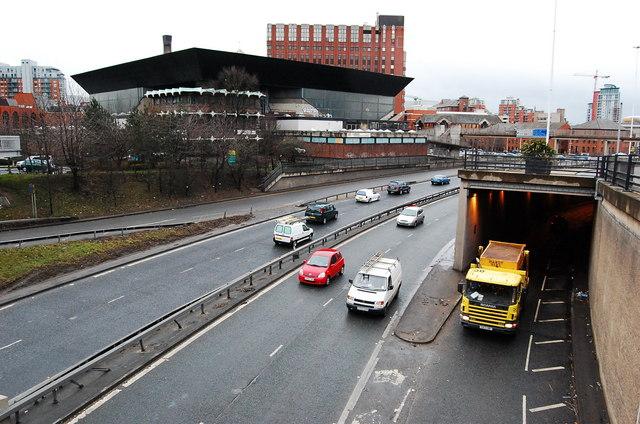 Leeds inner ring road
