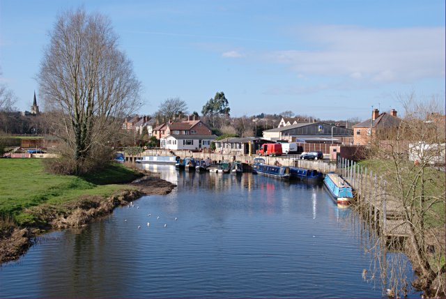 Moorings on the River Soar at Kegworth