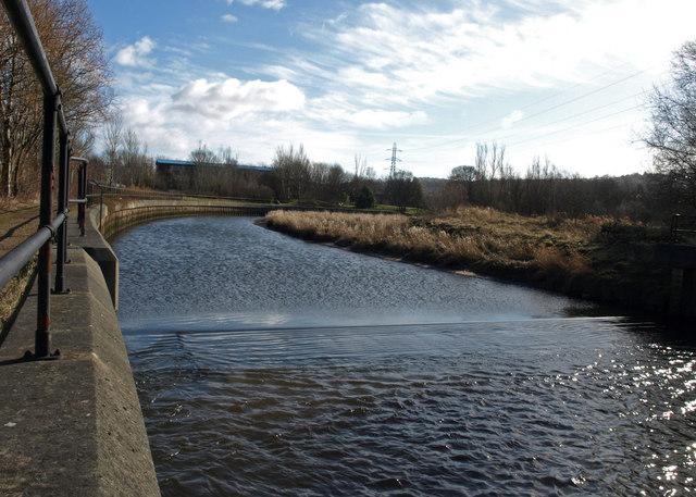 Weir, River Derwent