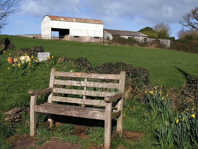 Seat, Marldon churchyard