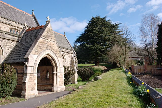 Churchyard of St Michael's, Sutton Bonington