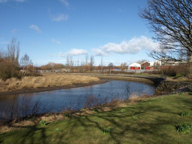 Riverside park, Derwent River
