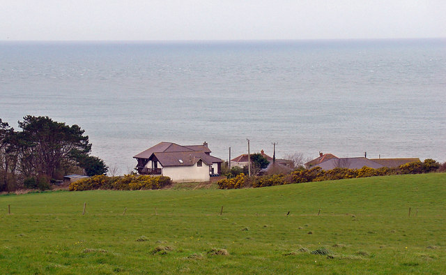 Houses on the Tywyn Farm estate