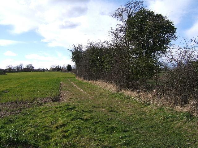 Footpath from Guilden Sutton