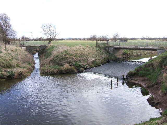 Oxen Bridge on the River Gowy