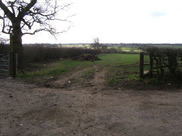 Footpath to Guilden Sutton