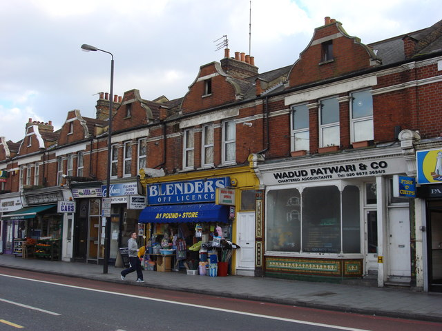 Shops on Tooting Bec Rd