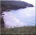 SW3835 : Portheras Cove by Trevor Rickard