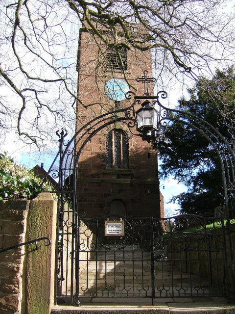 Gates leading to St. Bartholomew's Church