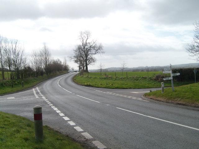 Turnpike Cross on the A356