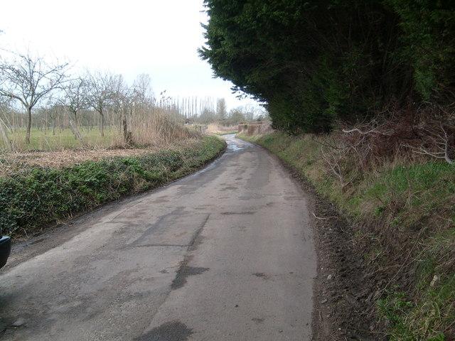 Lane to Over Stratton