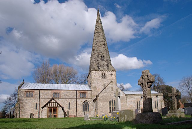 St James' church, Normanton on Soar