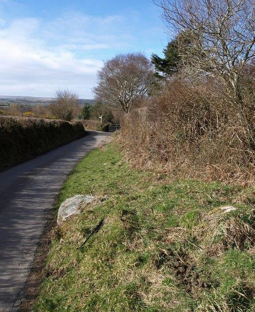 Lane to Lettaford