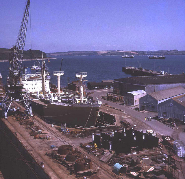 Falmouth Docks and Carrick Roads