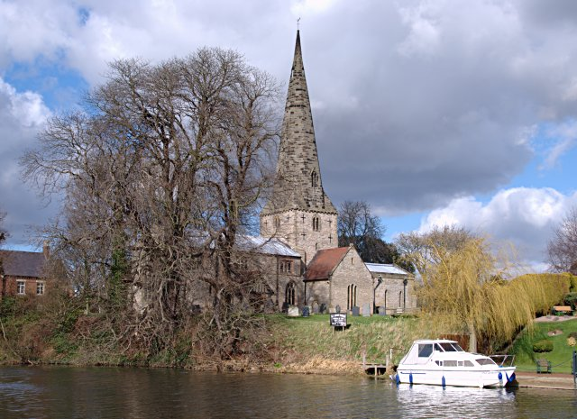 The riverside church at Normanton on Soar