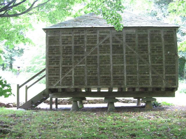 Barn near Arlington Court