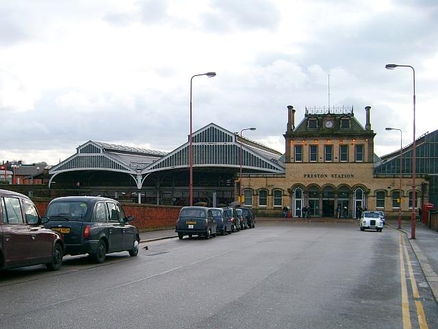Approach to Preston Railway Station