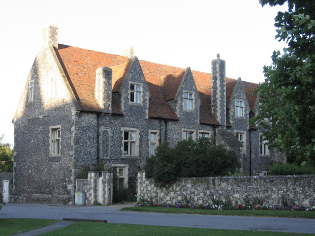 Houses within the Cathedral Close