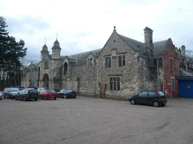 Thoresby Hall - Outbuildings