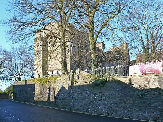 St Woolos Cathedral and boundary wall