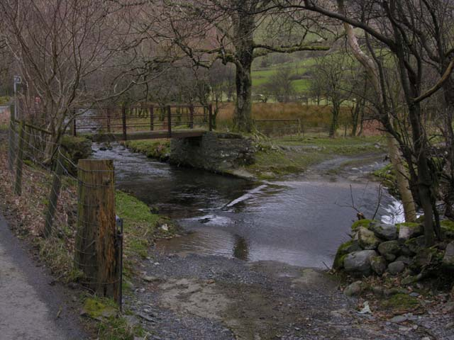 Ford over the Afon Cywarch