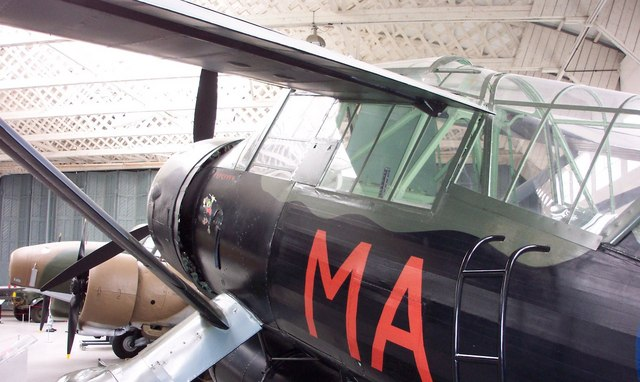 Lysander Aircraft at Duxford