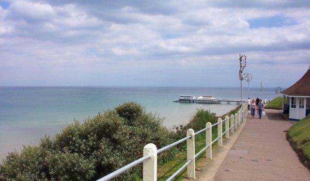 Cliff top Footpath-Cromer