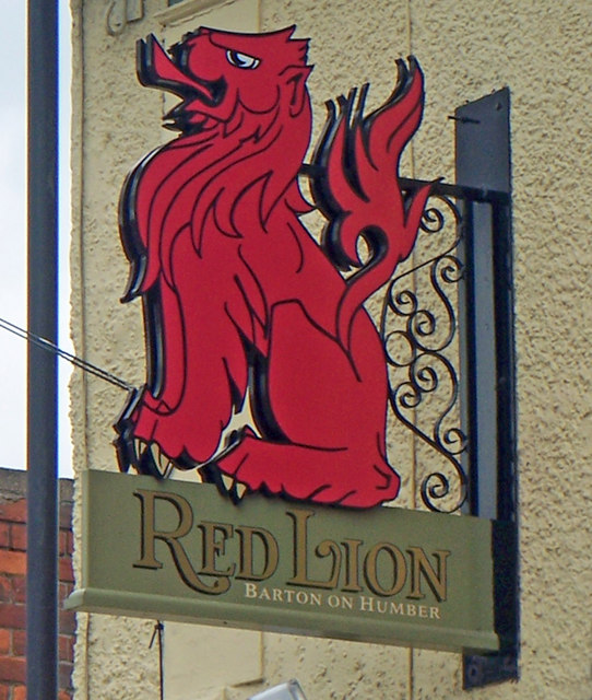 The Sign of the Red Lion