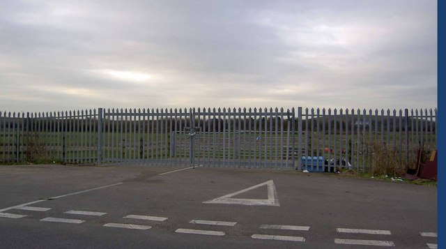 Double gates near Hortham farm